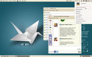 Ubuntu 10.04 Zen Beauty by lalitpatanpur