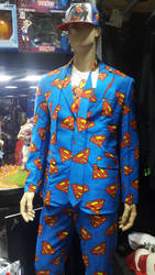 Superman suit by haseeb312