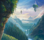 landscape by Araniart