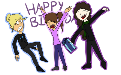 Happy Birthday! by SuperNovaArts