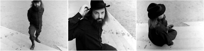 man in black by Sanjko0