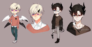 Horned Adopts [CLOSED] by yhviia-adopts