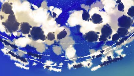 Can I Fall Again In Those Blue Dreams Sora? by Yumijii