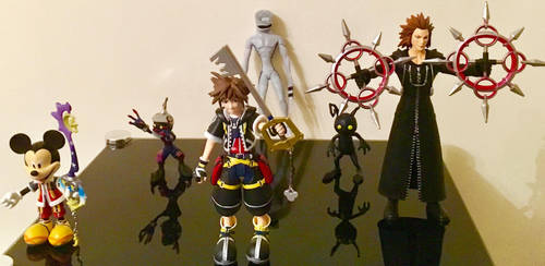 Kingdom Hearts 15th Anniversairy Figurines by TheRightWriter