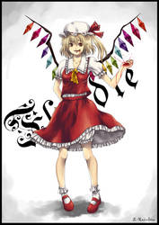 Flandre Scarlet by L-Rainbow