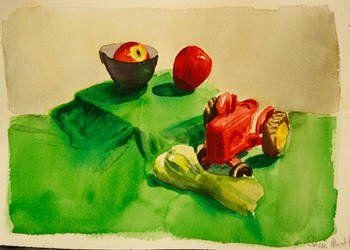 Red Green Still Life by black-racoon