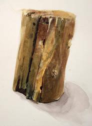 Block of Wood by black-racoon
