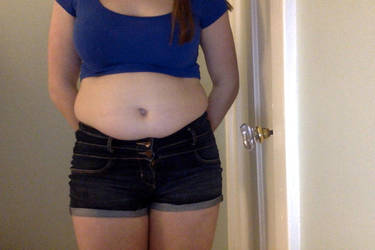 The tiniest crop top you've ever seen by growinggirl123