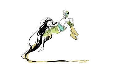 Marceline and Finn by xsweet-rainex