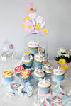 Unicorn Cupcakes and Marvel Hero Muffins by StargazeAndSundance