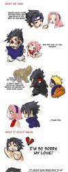 Sasuke sez NO to Sakura hate by askerian