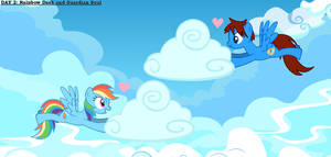 Day 2 - Rainbow Dash and Guardian Soul by GuardianSoulMLP