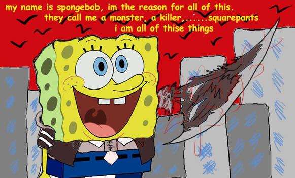 alex mercer spongebob by Melciah1791