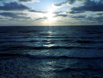 Deep Blue Sea by T4Del