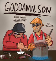 GODDAMN SON by Nintendo-Nut1