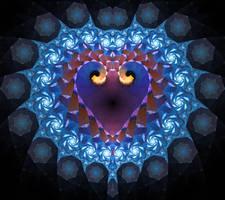The Heartbeat of Escher by Jeddaka