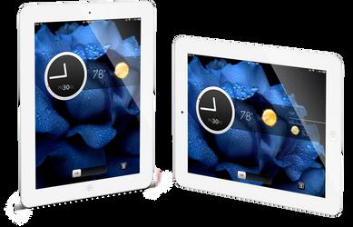 WIP iPad Lockscreen by judge