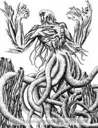 Ulamog, The Infinite Gyre by Ghostsymphony
