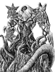 Kozilek, Butcher of Truth by Ghostsymphony