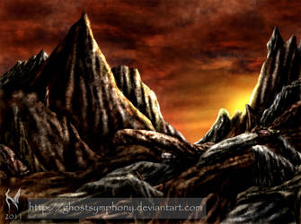 MTG, Mountain by Ghostsymphony
