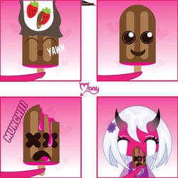 Di Mony ep 4 Ice cream by LuisxOlavarria