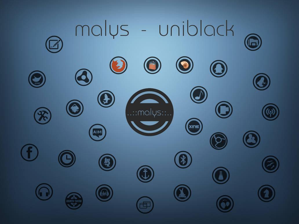 malys - uniblack update 11.09.2012 by malysss