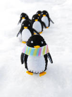 Trek of the Penguins by jefita