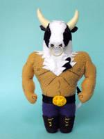 Hector the Holstein Minotaur by jefita