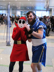Pax 2011-Beard Li and Shy Guy by jefita