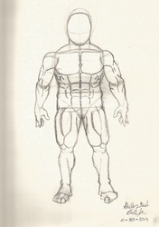 Figure Study - Medium-Sized Male by Ph03n1x-Warr1or-Z