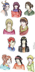 Reason - All Characters by thylaa