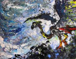 Prehistoric Bird by nellems