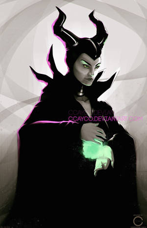 Maleficent by ccayco