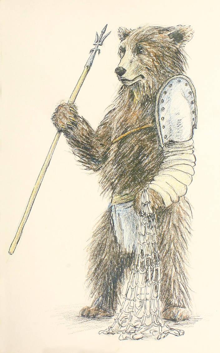 Bear the Gladiator by Kiriwana