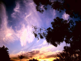 Coloured Sky Pt.2 by hypothetically