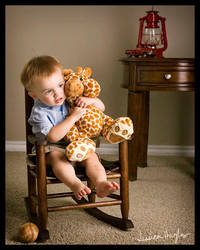 His Giraffe by TimelessImages
