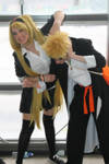 Naruto and Naruko - Konoha High School by HinaNekosama