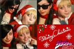 Joestar Family's Christmas by HinaNekosama