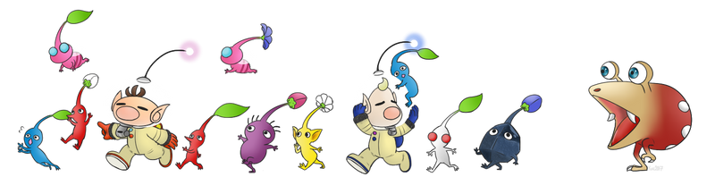 Pikmin by Yunique55