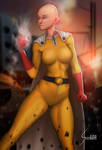 One Punch Woman (Onepunch Man Genderbend) by EverHobbes