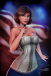 Elizabeth Comstock, Bioshock Infinite (Updated) by EverHobbes