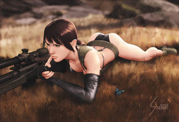 Quiet, Metal Gear Solid V, Swimsuit ALT version by EverHobbes
