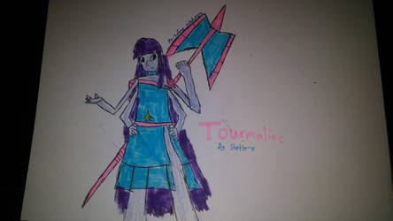 Tourmaline (Steven Universe OC) by nobody5679
