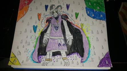 Asriel Dreemurr by nobody5679