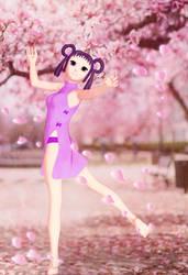 Hitomi no Sakura by bellatryxxx