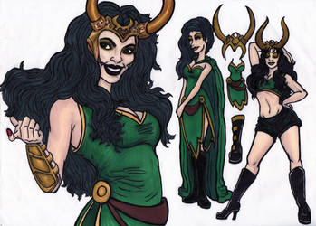 Lady Loki by kai-luver