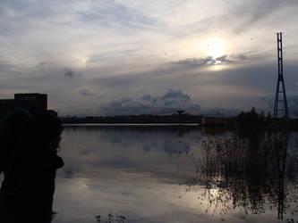 Helsinki Sunset 2 by Fischstaebchen