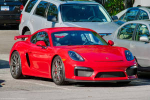 Red GT4 by SeanTheCarSpotter