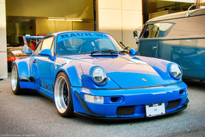 Baby Blue RWB by SeanTheCarSpotter