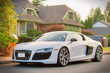 Sunset R8 V10 by SeanTheCarSpotter